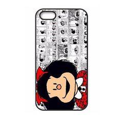 Funny Cartoon Mafalda Case for iPhone 4 4S 5 5S 5C 6 6S Plus Samsung Galaxy S3 S4 S5 Mini S6 edge Note 2 3 4 A3 A5 A7 2015 E5 E7