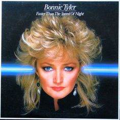 Bonnie Tyler - Faster Than The Speed Of Night CANADA  83 LP Vinyl
