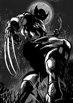Here's a Halloween Wolverine for you.