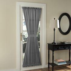 Sun Zero Groton Door Single Curtain Panel