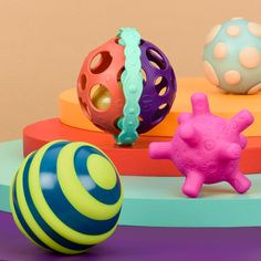Ball-a-balloos™ | a B. baby toy by B. toys