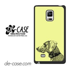 Dog Head Sketch DEAL-3550 Samsung Phonecase Cover For Samsung Galaxy Note Edge