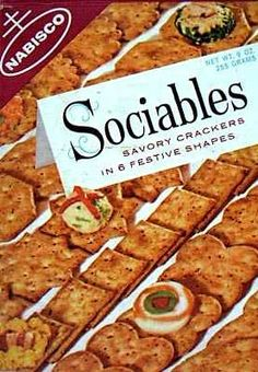 Sociables crackers  c. 1964