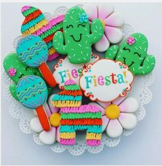 62 Ideas for baby shower cookies fiesta Mexican Birthday, Mexican Party, 1st Birthdays, First Birthday Parties, Surprise Birthday, Third Birthday, 70th Birthday, Birthday Ideas, Happy Birthday
