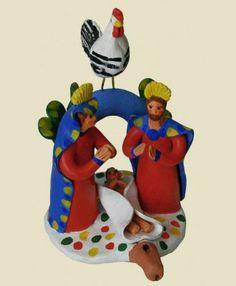 Presépios de barro de Estremoz Presepio de assobio (Portugal)