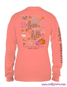 25fbd12177f Simply Southern Fall Faves L S Tee (Adult   Youth)
