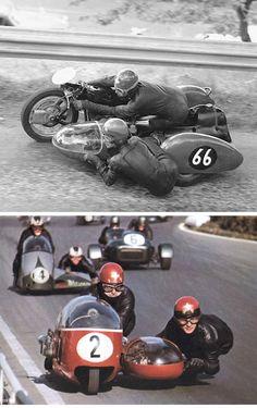 Fritz Scheidegger and John Robinson - 1960s
