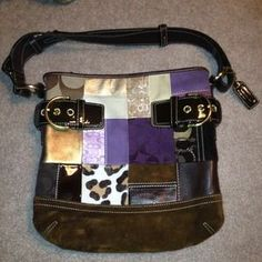 I just discovered this while shopping on Poshmark: Authentic Coach Shoulder Bag. Check it out!  Size: Medium