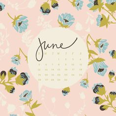 Floral Desktop Backgrounds for June by Bonnie Christine (1)