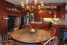 Period Colonial lighting in the kitchen - Google Search