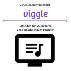 Viggle lasse dich für Fernseh schauen und Musik hören belohnen