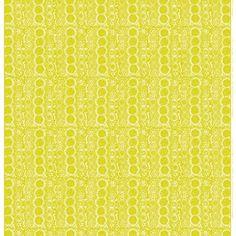Marimekko Praliini Yellow Upholstery - Marimekko Upholstery Fabrics
