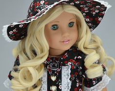 Handcrafted doll clothes fits AG Dolls OOAK  by PurpleRoseNY