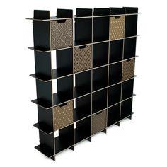 Modern 25 Cube Storage Bookase