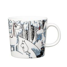 Snowhorse Moomin mug Winter 2016 from Arabia by Tove Jansson, Tove Slotte