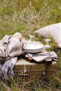 Spring Picnic photo {this is glamorous}, via Flickr