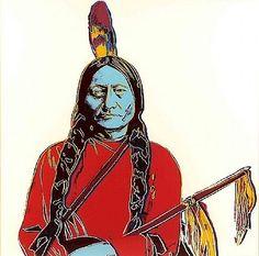 Andy Warhol: Sitting Bull