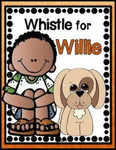 Whistle for Willie Journeys 1st Grade (6 Literacy Centers) $4.50