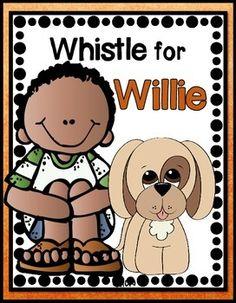 Whistle for Willie Journeys 1st Grade (6 Literacy Centers) $4.50