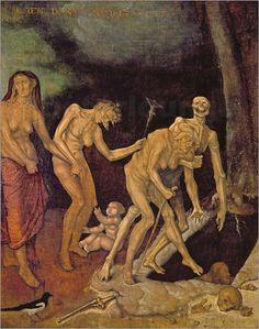 Poster The Walk to Death ~ Hans Baldung Grien