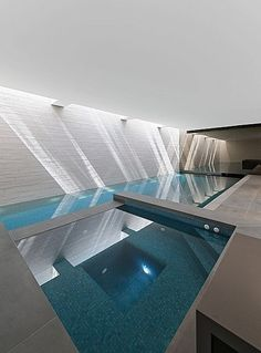 Indoor pool - West London House by SHH
