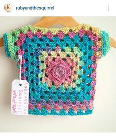 Discover thousands of images about Resultado de imagen para sweater crochet bear Crochet Bolero, Gilet Crochet, Crochet Jacket, Crochet Cardigan, Crochet Toddler, Baby Girl Crochet, Crochet For Kids, Diy Crochet, Crochet Baby Sweaters