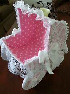 Baby Eliza Baby Carriage Centerpiece / Baby by TheCarriageShoppe