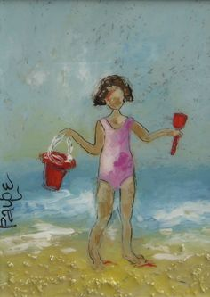 by Paige Morehead--SOLD, Red Bird Gallery, Seaside, FL