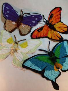 fall Felt Craft Ideas   Heidi Boyd Crafty Inspirations - Felt Butterfly Tutorial