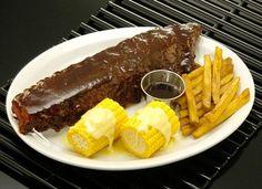 Fake Food BBQ Ribs Platter