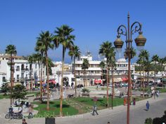 City of Tangier, Morocco.