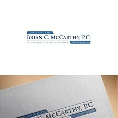 Creating a logo for a boutique law firm to include on all marketingmaterials.