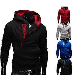 Introducing the SWAG zipper hoodie. It seems that in the past few years swag is getting quite popular among men from all over the world. Every man that is following the latest trends has at least one