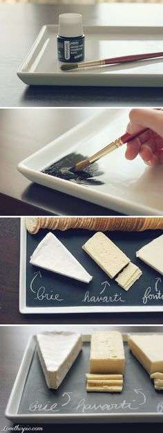DIY Chalkboard Porcelain Pictures, Photos, and Images for Facebook, Tumblr, Pinterest, and Twitter