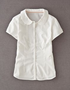 Lucy Shirt, looks vintage...love it under cardigans.