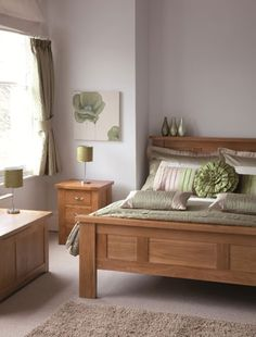 Color ideas to go with oak bedroom furniture | For the Home ...