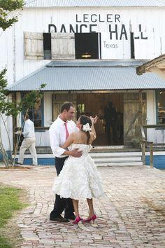 Rustic Country Wedding Venue: Marburger Farm - Round Top, TX - Rustic Wedding Chic Legler Dance Hall