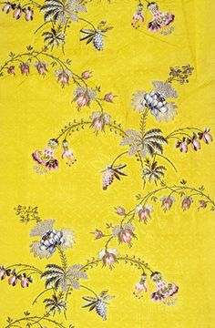 FLORAL TAFFETA – Spitalfields silk with floral taffeta, 1748-1750   Shop now at surfaceview.co.uk