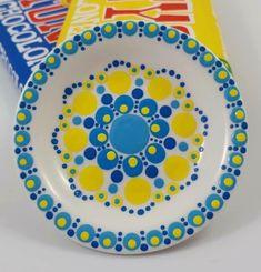 Van Stipstijl Dot Art Painting, Mandala Painting, Stippling Art, Mandala Dots, Rocks, Cups, Crafting, Ceramics, Note