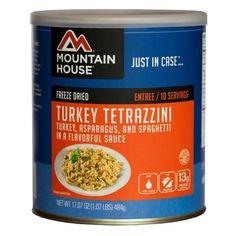 Entrees - Turkey Tetrazzini, 10 Servings