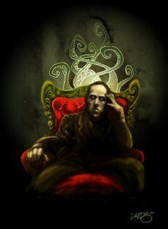 Mr. Lovecraft by Un tipo Ilustrado (David G. Forés)