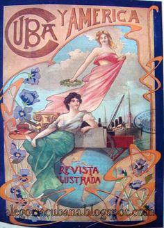 El art nouveau en la revista Cuba y América - Alegoría de la República de Cuba (1902-1958)