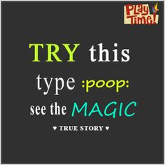 Try it! See the magic.  Like, Comment & Share.