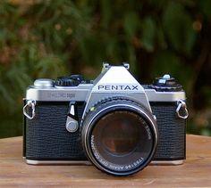 Vintage Pentax ME Super 35mm Camera by CanemahStudios on Etsy, $55.00