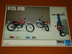 DT125、DT90 カタログ。YAMAHA、ヤマハ_画像3