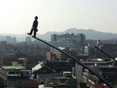 Leehwa village art, south korea