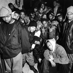 Wu-Tang Clan | Staten Island, NY 1992 | by Chi Modu // // http://babesngents.com/ // #babesngents