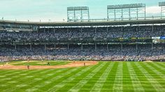 Can't think of a better place to wear 1916 uniforms ... Wrigley field. Let's go Reds!
