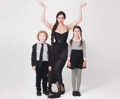 american apparel costume inspiration. Addams Family.