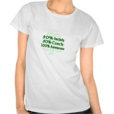 >>>Cheap Price Guarantee          50% Irish 50% Czech 100% Awesome T-shirts           50% Irish 50% Czech 100% Awesome T-shirts you will get best price offer lowest prices or diccount couponeShopping          50% Irish 50% Czech 100% Awesome T-shirts Review from Associated Store with this D...Cleck link More >>> http://www.zazzle.com/50_irish_50_czech_100_awesome_t_shirts-235639241333983196?rf=238627982471231924&zbar=1&tc=terrest